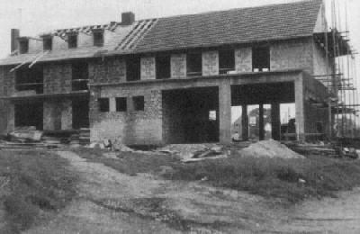 Neubau des Gerätehauses Unterbach 1961